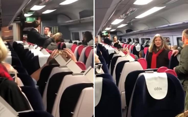 Ρατσιστικό παραλήρημα Σκοτσέζου εναντίον Κινέζων μέσα στο τρένο