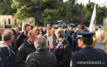 Παράσταση διαμαρτυρίας στο υπουργείο Δικαιοσύνης για την καθαρίστρια στον Βόλο