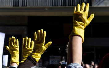 Aναίρεση της ποινής για την καθαρίστρια ζητά η ΓΣΕΕ