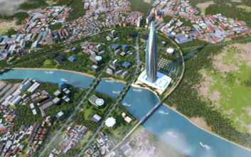 To ψηλότερο κτίριο στην Αφρική αρχίζει να ορθώνεται