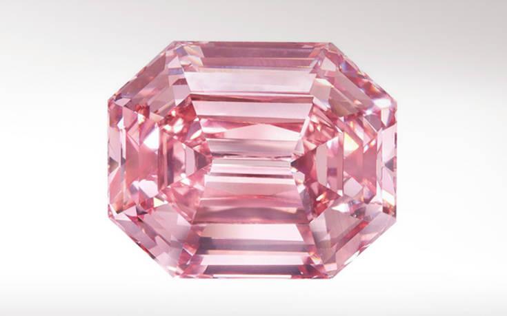 Βγαίνει σε δημοπρασία το ροζ διαμάντι που αναμένεται να σπάσει κάθε ρεκόρ c62d2b5da7e