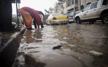 Φονικές πλημμύρες στην Ιορδανία, στους 11 οι νεκροί