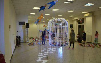 «Τα πουλιά της ελευθερίας», ένα έργο από και για τους πρόσφυγες