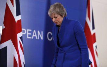 Μέι: Θα υπάρξουν και άλλες συζητήσεις με τους εταίρους για το Brexit