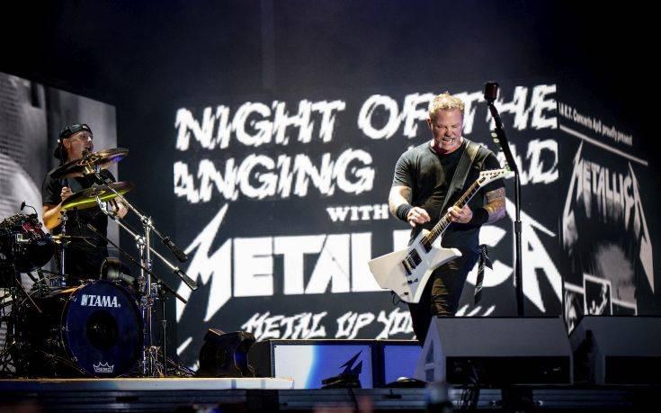 Το φιλανθρωπικό τους πρόσωπο έδειξαν για ακόμα μια φορά οι Metallica