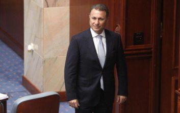 Απειλές για την ασφάλειά του επικαλείται ο Γκρούεφσκι