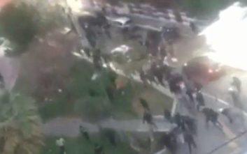 Επεισόδια στο Γκάζι με οπαδούς του Άγιαξ