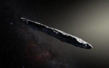 Ερευνητές του Χάρβαρντ πιστεύουν ότι ο «Ουμουαμούα» είναι εξωγήινο σκάφος