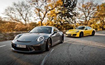Πόσες 911 περιλαμβάνει η προϊοντική γκάμα της Porsche;