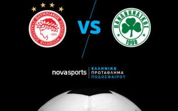 Αναμέτρηση «αιωνίων» σε μπάσκετ και ποδόσφαιρο αποκλειστικά στα κανάλια Novasports