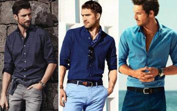 Ανδρικά πουλόβερ και πουκάμισα που πρέπει να έχετε στην ντουλάπα σας