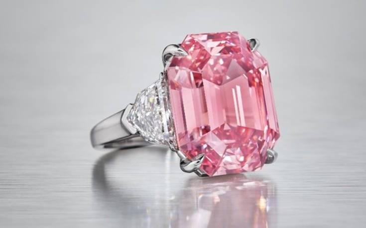 Τα περισσότερα ροζ διαμάντια ζυγίζουν λιγότερο από ένα καράτι. Το «Pink  Legacy» ανήκει στην κατηγορία «fancy vivid» στην οποία ανήκουν όσα έχουν  βάρος πάνω ... 90f217bd68b