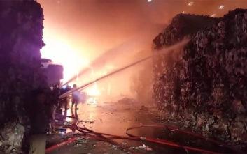 Η φωτιά στη βιομηχανία χαρτιού στοίχισε… 3 εκατ. δολάρια