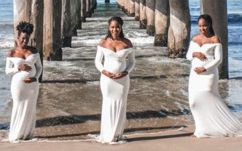 Οι τρεις αδερφές που περνάνε ταυτόχρονα την εγκυμοσύνη