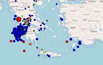 Δύο νέοι σεισμοί κοντά στη Ζάκυνθο με διαφορά λίγων λεπτών