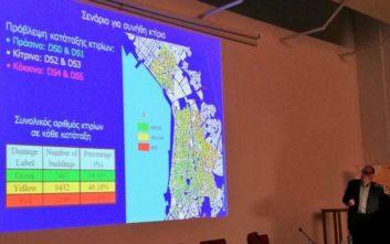«Σημαντική η τρωτότητα της Θεσσαλονίκης ειδικά σε ισχυρό σεισμό»