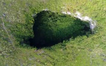 Ανακαλύφθηκε σπήλαιο μεγέθους 10 γηπέδων ποδοσφαίρου