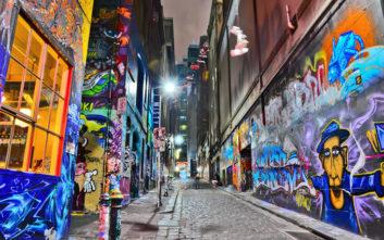 Εντυπωσιακά γκράφιτι σε δημοφιλείς ταξιδιωτικούς προορισμούς