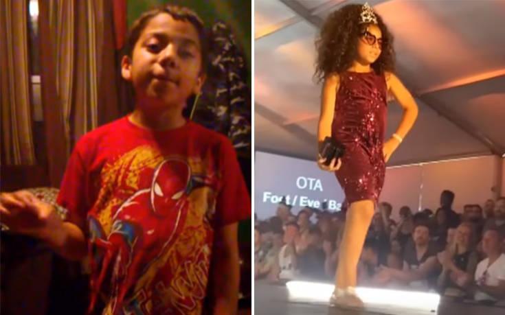 Ένας 11χρονος που μεταμορφώνεται σε drag queen διχάζει τον κόσμο