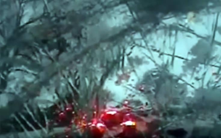 Η επικίνδυνη προσπέραση στο χιόνι του έφερε 18μηνη απαγόρευση οδήγησης