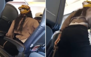 Εξωφρενική ρατσιστική επίθεση μαύρης σε… μαύρο μέσα στο αεροπλάνο