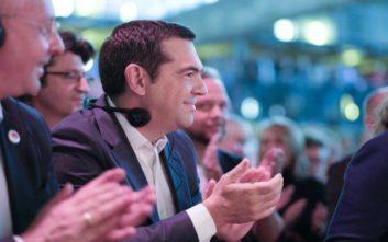 Τσίπρας στο συνέδριο του SPD: Το 2015 προτιμήσαμε τον δύσκολο συμβιβασμό