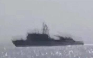 Οι Τούρκοι στήνουν προβοκάτσια και λένε ότι έδιωξαν σκάφος του Ελληνικού Πολεμικού Ναυτικού