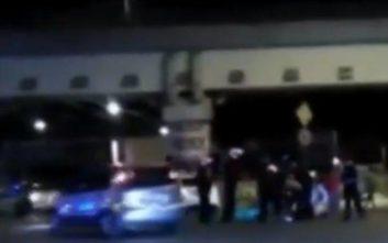 Καρέ-καρέ η επίθεση κατά αστυνομικών στου Ρέντη