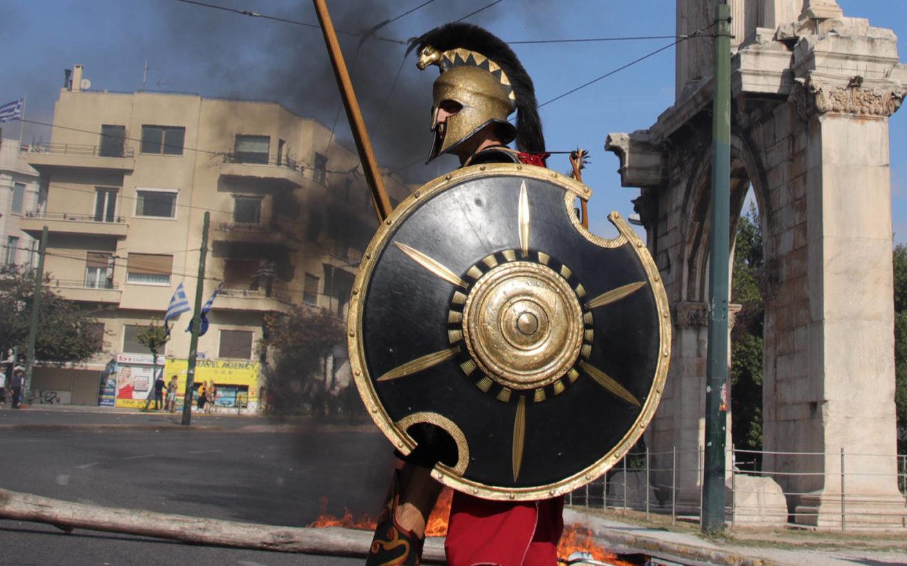 Η σχέση της Αρχαίας Ελλάδας με την οπλοκατοχή
