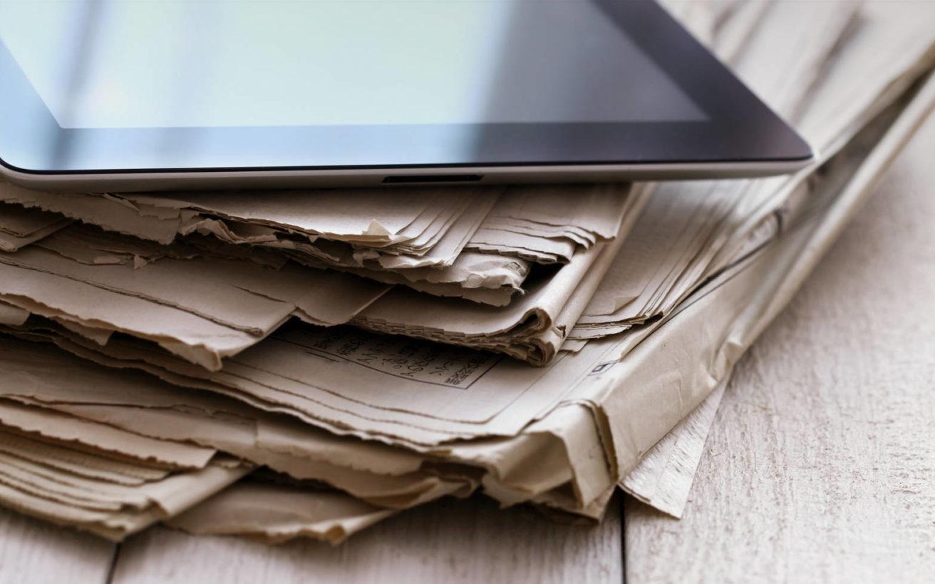 Το δύσκολο πέρασμα από την εποχή των εφημερίδων σε αυτή του διαδικτύου