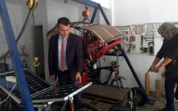 Ηλιακό-ηλεκτρικό όχημα κατασκευάζουν φοιτητές στο Αγρίνιο