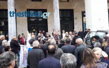 Κινητοποίηση συνταξιούχων και στη Θεσσαλονίκη