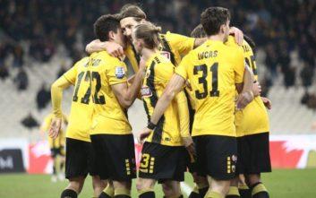 Η ΑΕΚ επικράτησε της Λαμίας με 2-0
