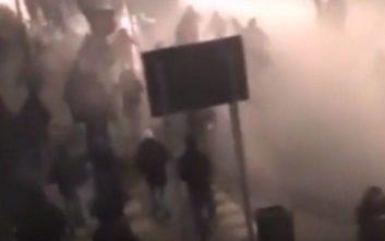 Νέο βίντεο από τα επεισόδια στο Σαν Σίρο