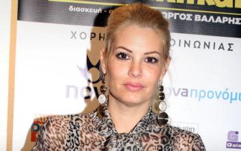 Εφιαλτικές στιγμές για τη Μαρία Κορινθίου