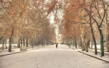 Χειμωνιάτικο σκηνικό στην Ουγγαρία