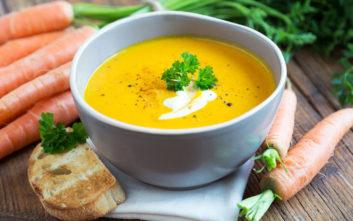 Βελουτέ σούπα καρότου