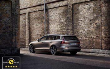 Ασφάλεια 5 αστέρων για τα Volvo S60 και V60