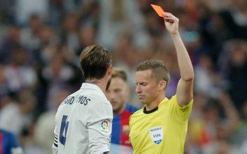 Η Ρεάλ Μαδρίτης έκλεισε χρόνο χωρίς να δει κόκκινη κάρτα
