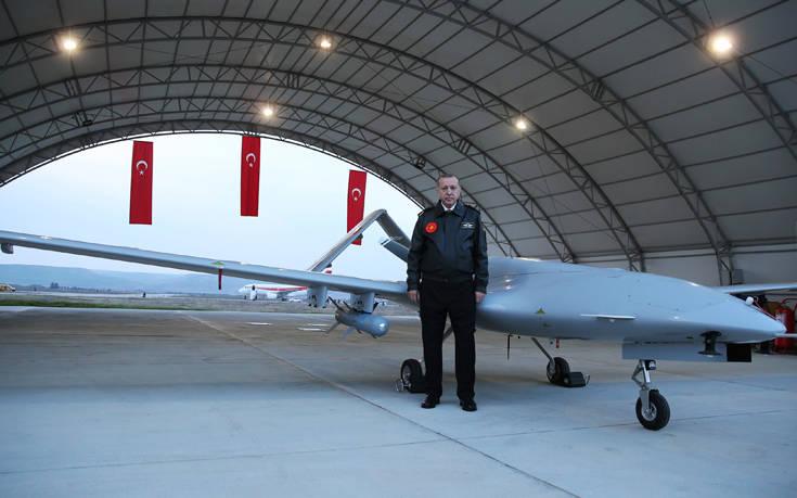 «Σε συναγερμό η ελληνική αεροπορία από την πτήση τουρκικού drone»