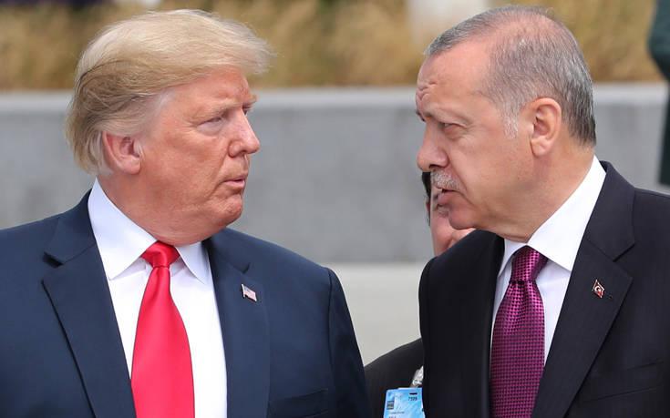 «Ψήνεται» ραντεβού Ερντογάν- Τραμπ