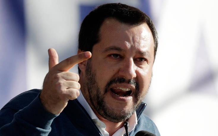 Σαλβίνι: Η Λέγκα δεν θα συγκροτήσει κοινή ευρωομάδα με τα Πέντε Αστέρια
