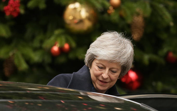 Μέι: Στα μέσα Ιανουαρίου η νέα ψηφοφορία στο κοινοβούλιο για το Brexit
