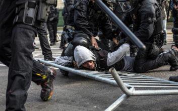 Συλλήψεις και τραυματίες σε διαδηλώσεις στη Βαρκελώνη
