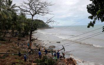Σεισμός στην Παπούα – Νέα Γουινέα: Ήρθη η προειδοποίηση για τσουνάμι