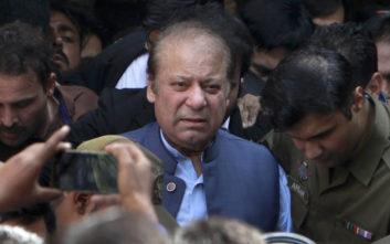 Κάθειρξη επτά ετών στον πρώην πρωθυπουργό του Πακιστάν