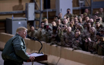 Οι ΗΠΑ στέλνουν 1.500 στρατιωτικούς στη Μέση Ανατολή