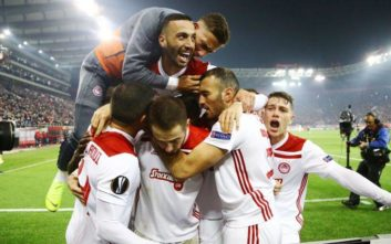 Ολυμπιακός: Η νίκη με 3-1 επί της Μίλαν στα καλύτερα ματς του Europa League