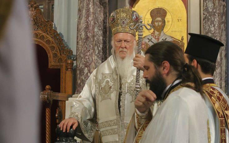 Βαρθολομαίος: Ακραία και απαράδεκτη η απόφαση του Πατριαρχείου της Μόσχας