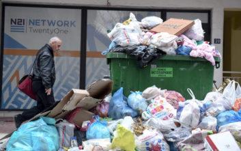 Η Τσικνοπέμπτη έφυγε και άφησε πίσω της 135 τόνους σκουπιδιών